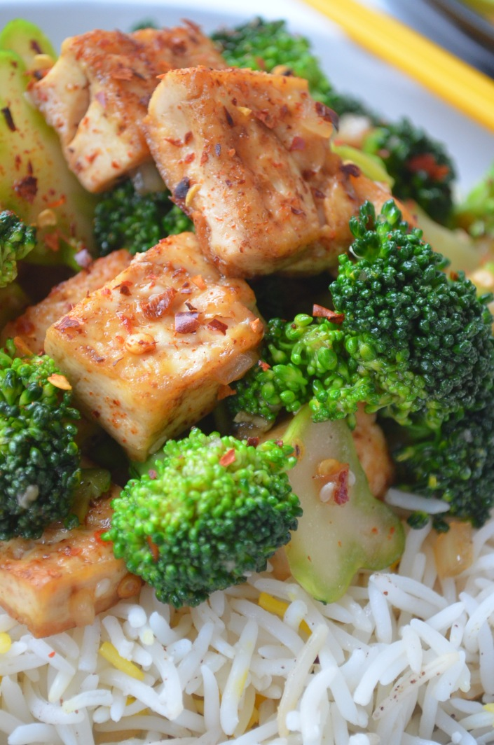 Meatless Monday Brocolli Stir Fry