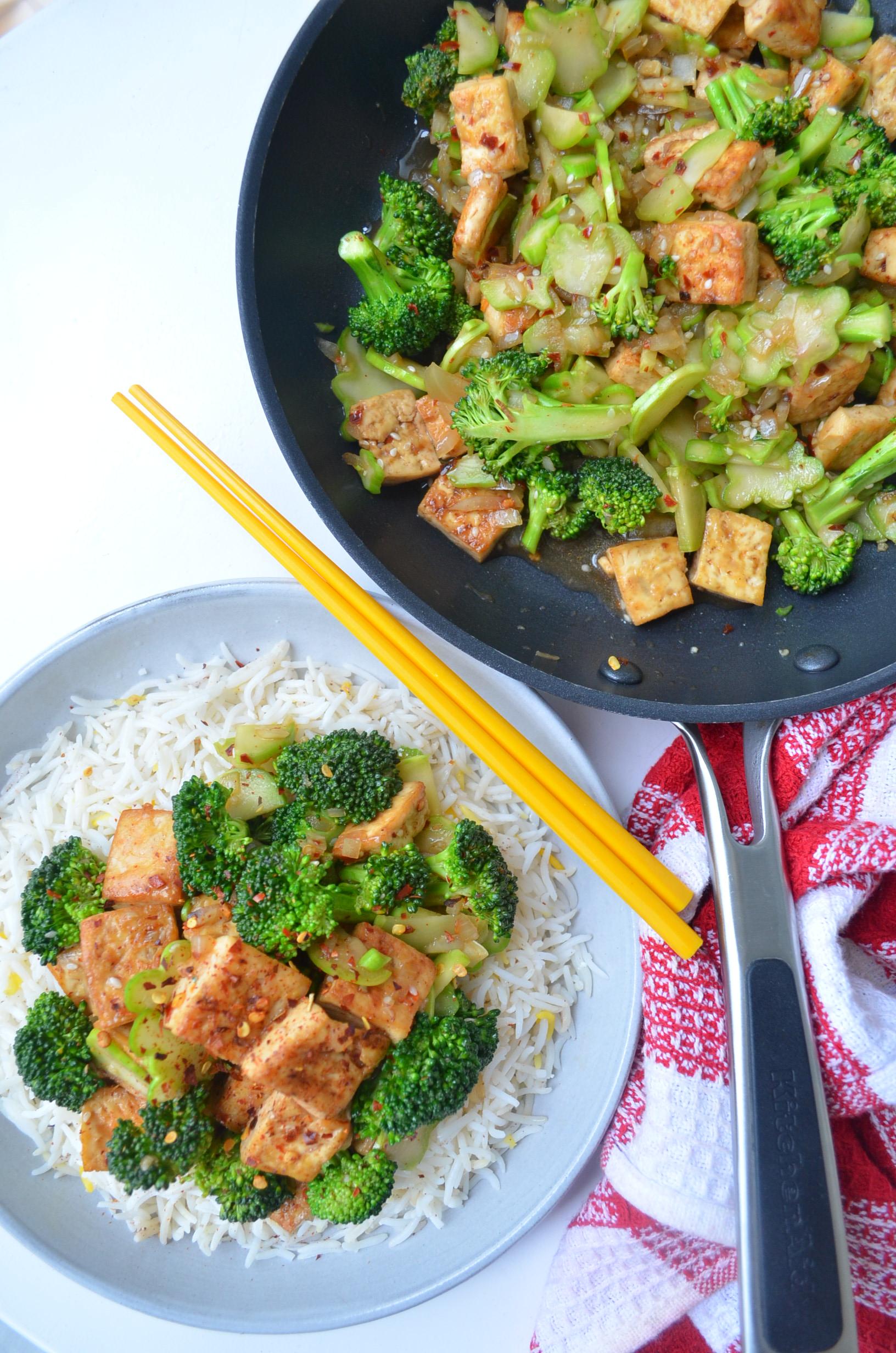 Meatless Monday Tofu Stir Fry