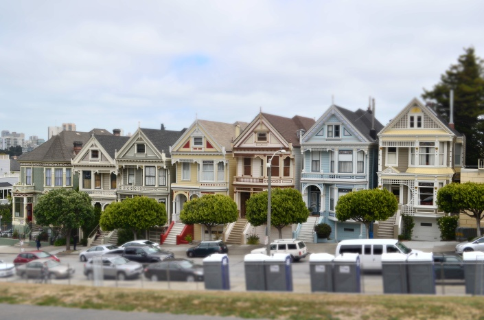Painted Ladies San Francisco USA