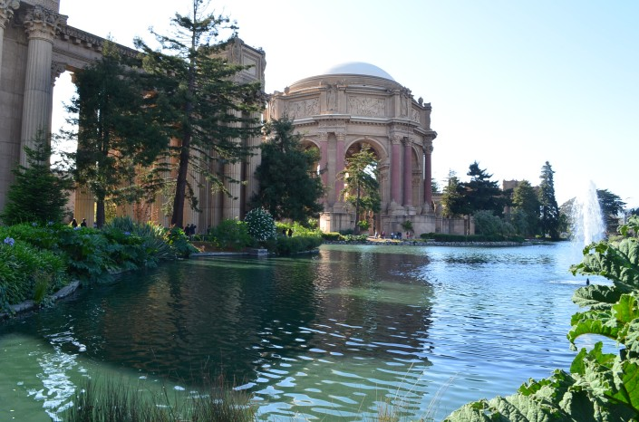 Palace of Fine Arts San Francisco USA