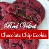 Red Velvet Chocolate ChipCookie