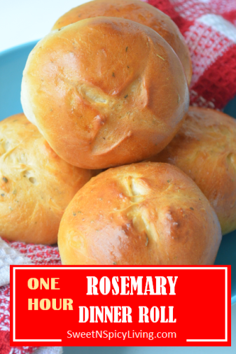 Rosemary Dinner Rolls