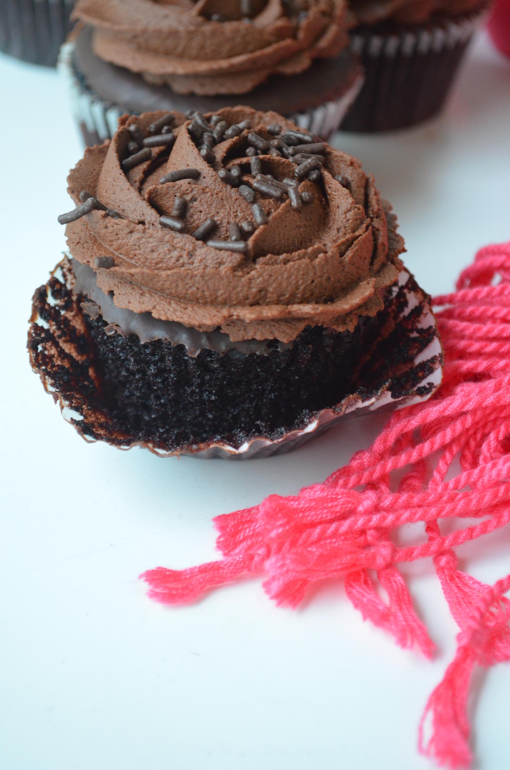 Simple Chocolate Cupcake Recipe