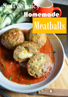 Soft and Juicy Homemade Meatballs