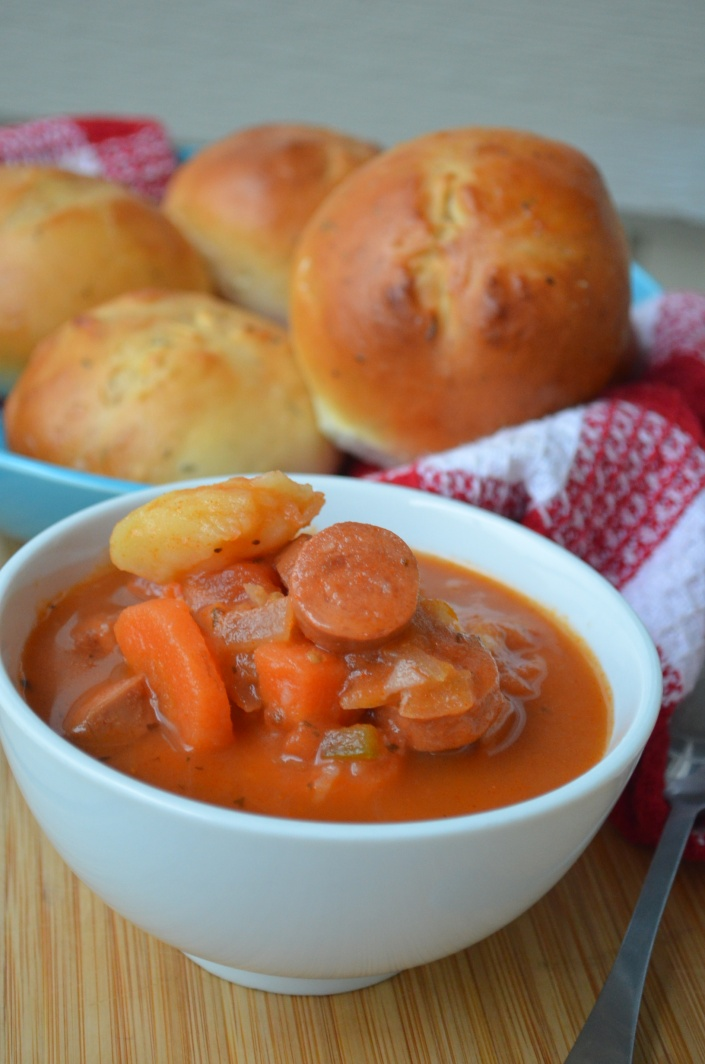 Spicy Sausage Stew