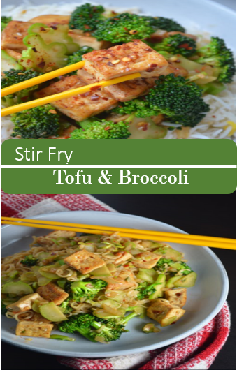 Stir Fry Tofu & Broccoli