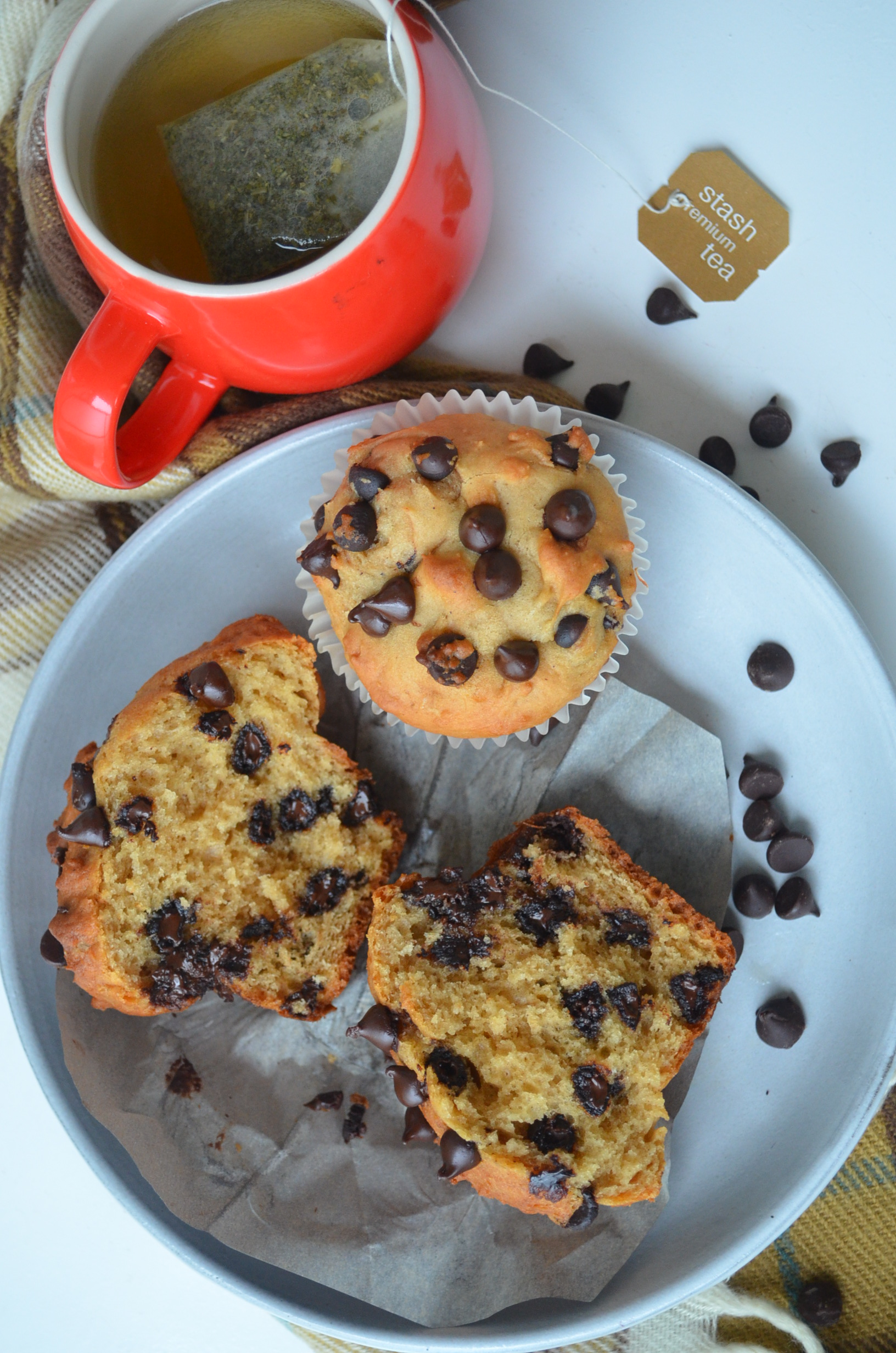 Unbelievable Chocolate Chip Muffins