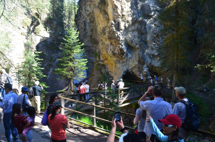 Upper Trail Johnston Canyon