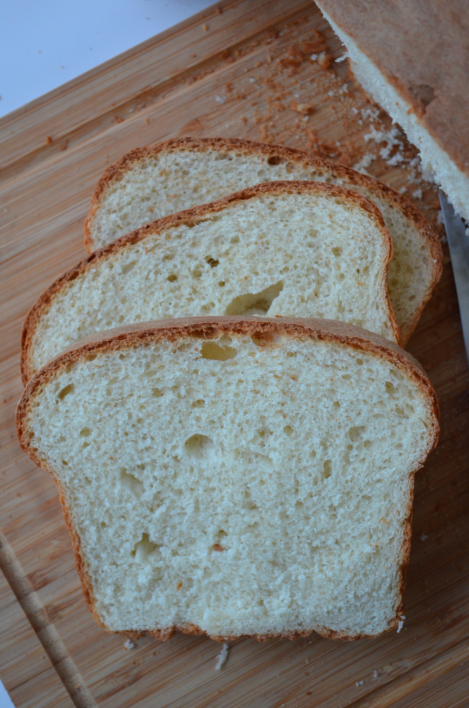 White Loaf Bread at SweetNSpicyLiving.com