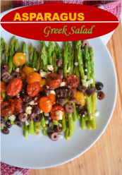 Asparagus Greek Salad