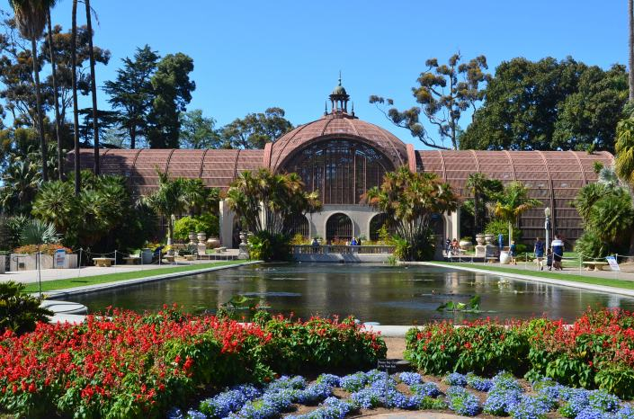 Balboa Park at San Diego USA