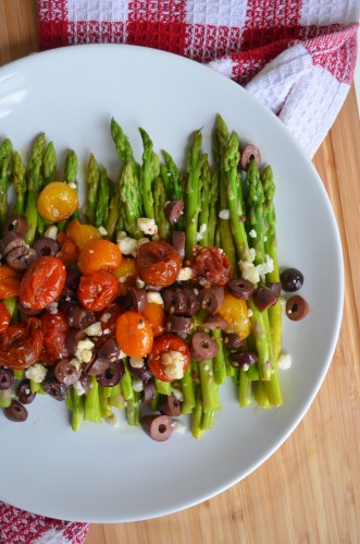 Cherry Tomato and Asparagus Salad Recipe