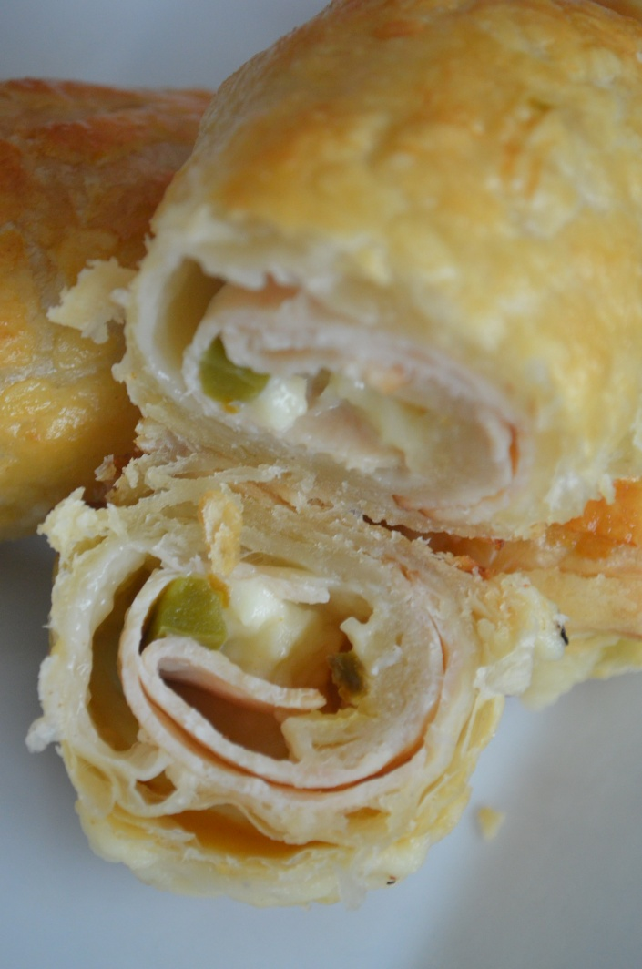 Jalapeno Cheddar Puff Pastry Recipe at SweetNSpicyLiving.com