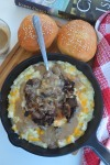 Mashed Potatoes with Sauteed Mushrooms Recipe at SweetNSPictLiving.com