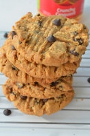 Peanut Butter Chocolate Chip Cookie Recipe at SweetNSpicyLiving.com