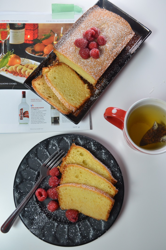 Ricotta Pound Cake at SweetNSpicyLiving.com