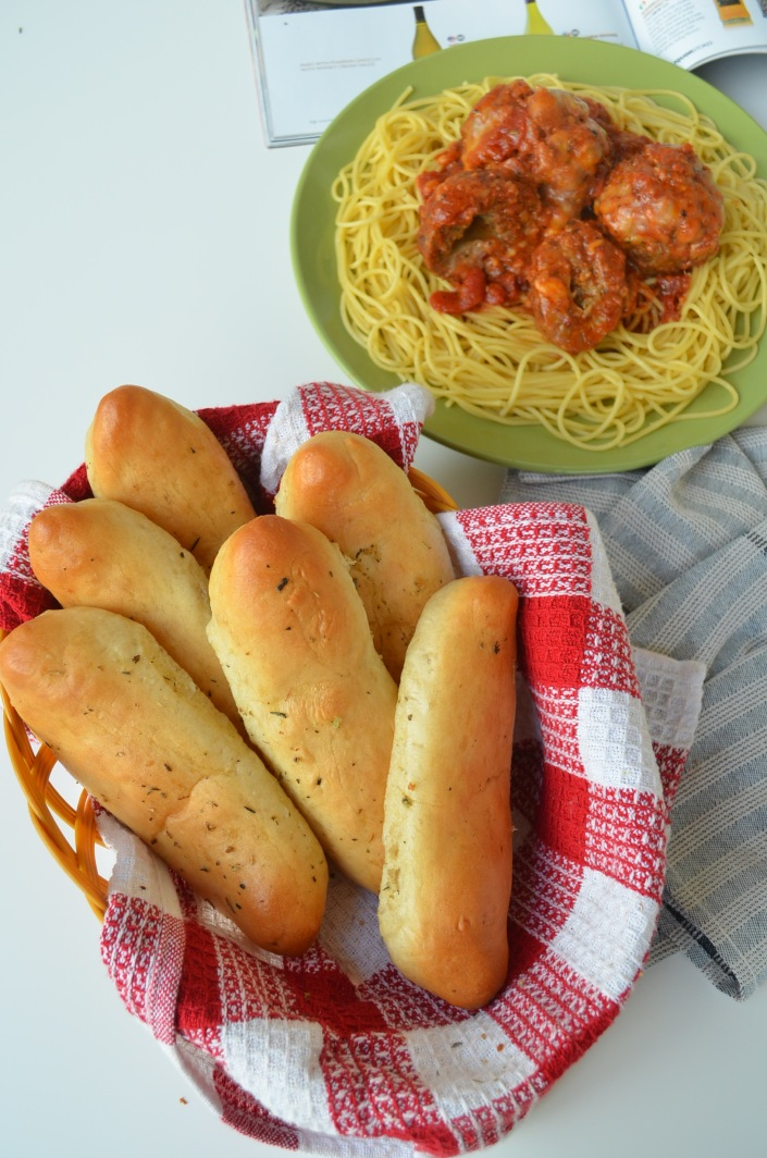 Soft Bread Stick Recipe at SweetNSpicyLiving.com
