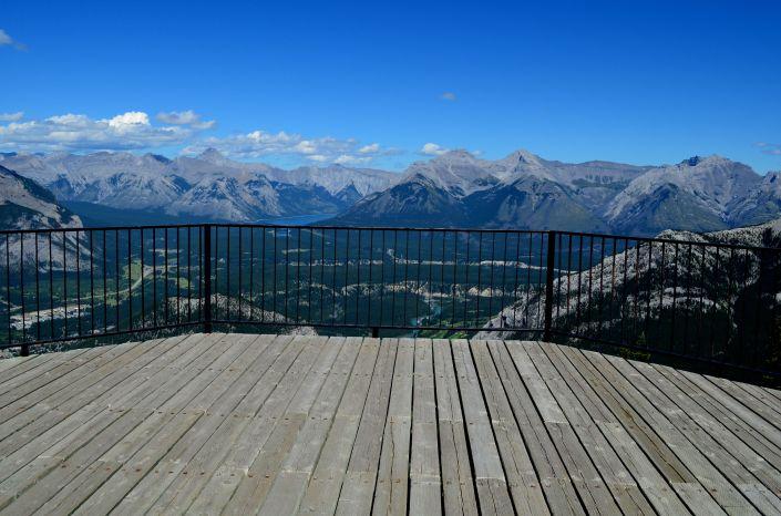 Sulfur Mountain at Banff Alberta Calgary