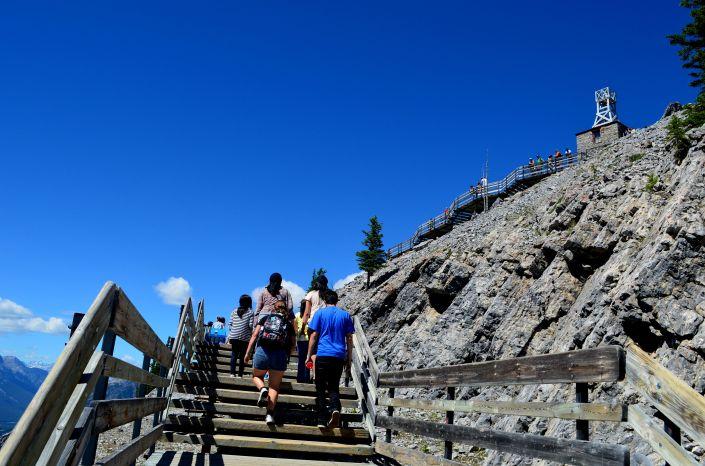 Sulfur Mountain at Banff Alberta