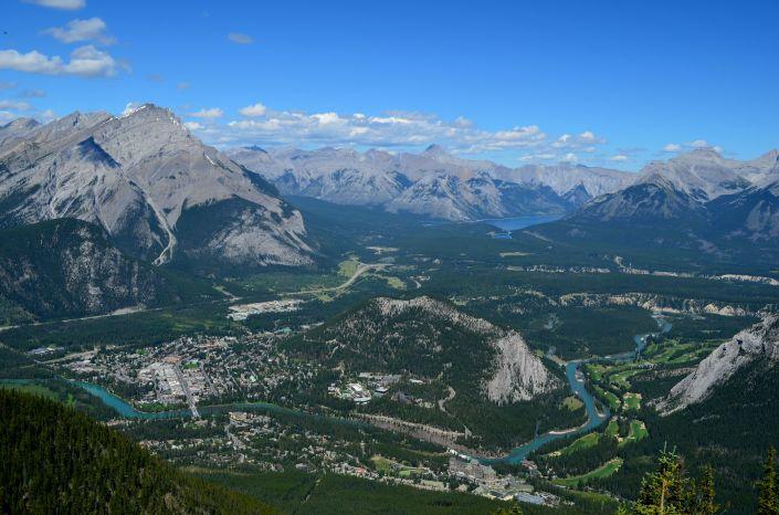Summer at Banff Alrberta