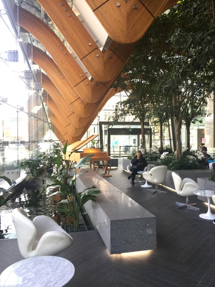 Telus Garden Building Lobby