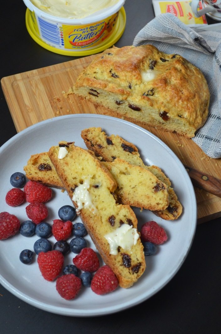 Traditional Irish Soda Bread at SweetNSpicyLiving.com