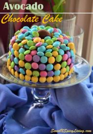 Avocado Chocolate Cake