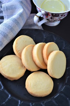Small Batch Shortbread Cookie SweetNSpicyLiving