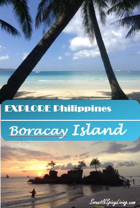 White Sand of Boracay Island Philippines