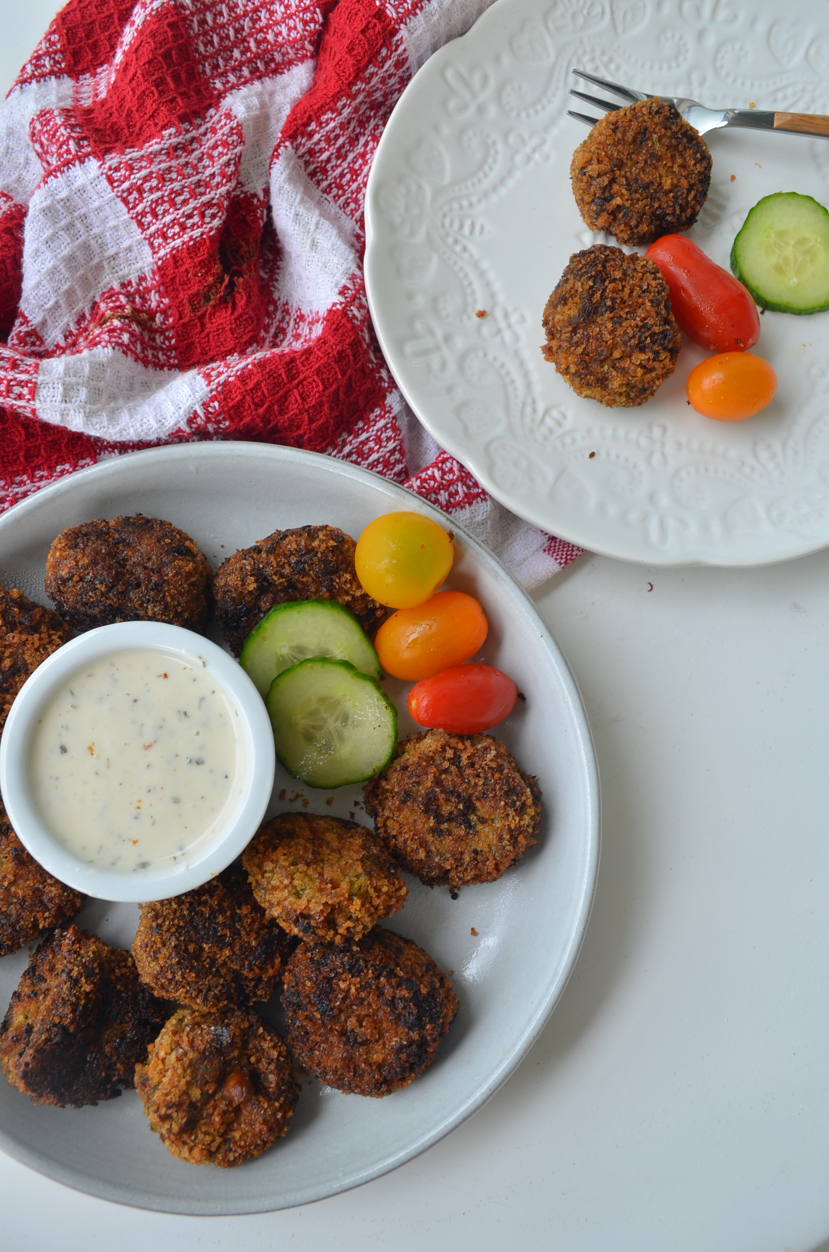 Cheesy Zucchini Tots by SweetNSpicyLiving
