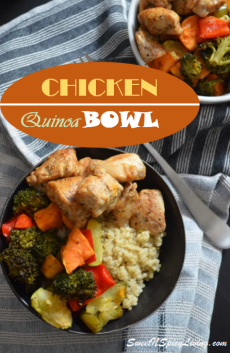 Chicken and Quinoa Bowl