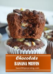 Chocolate Banana Muffin Blog
