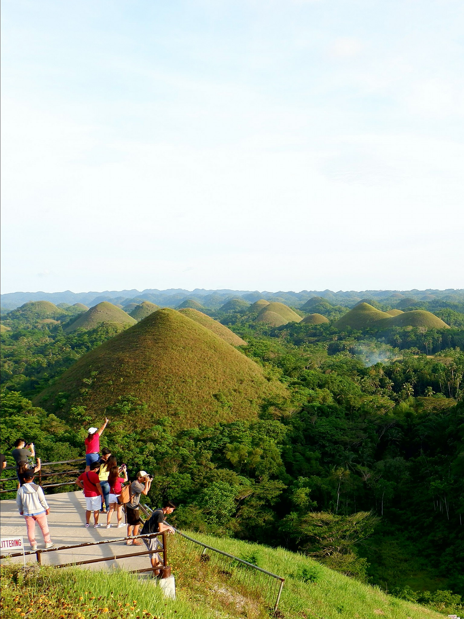 Chocolate Hills at Carmen Tagbilaran City