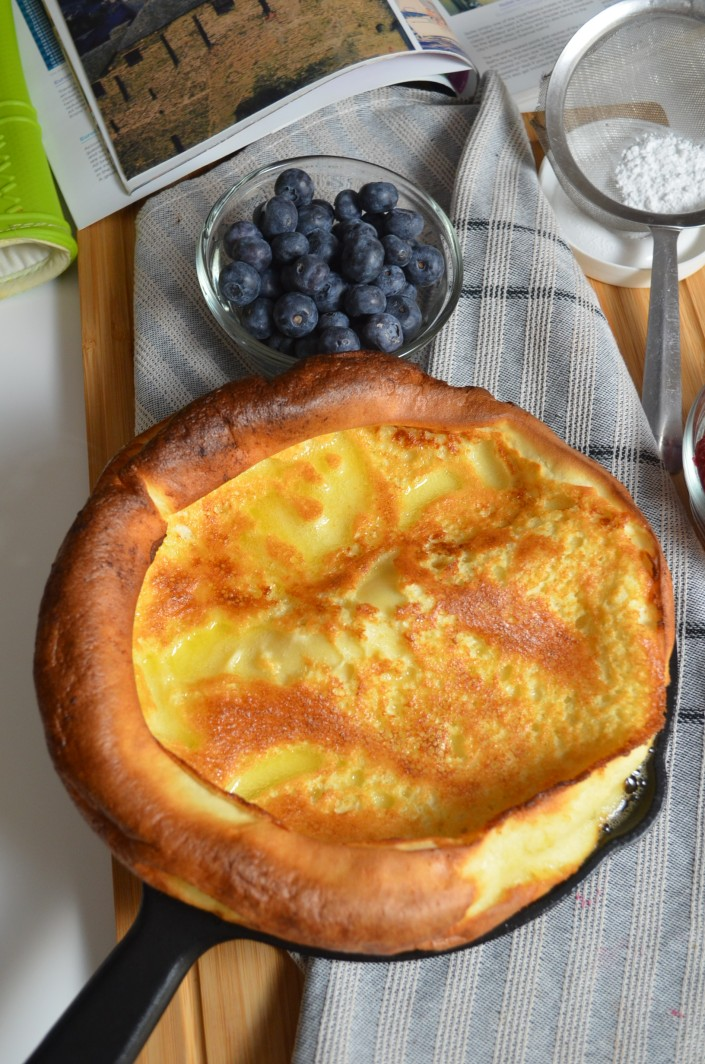 Classic Dutch Baby By SweetnSpicyLiving.com