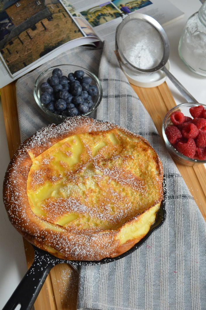 Classic Dutch Baby Pancakes By SweetnSpicyLiving.com