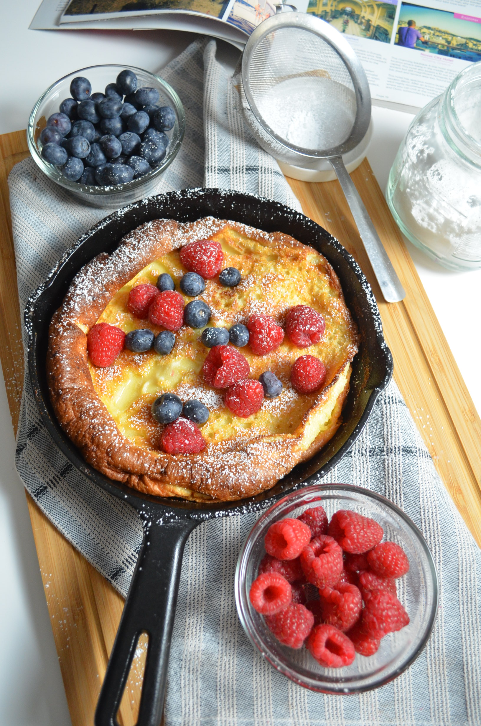 German pancakes, Dutch Baby Pancakes By SweetnSpicyLiving.com