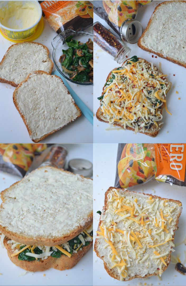 Grilled Cheese Collage