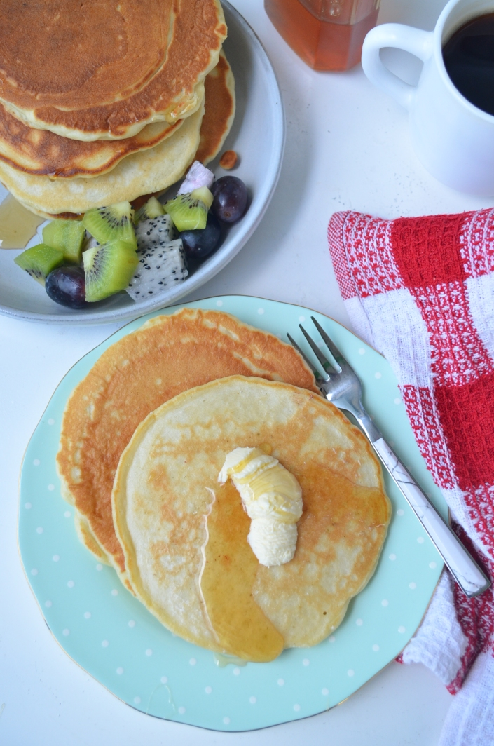 Homemade Pancakes at SweetnSpicyLiving.com