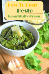 How To Keep Pesto Beautifully Green