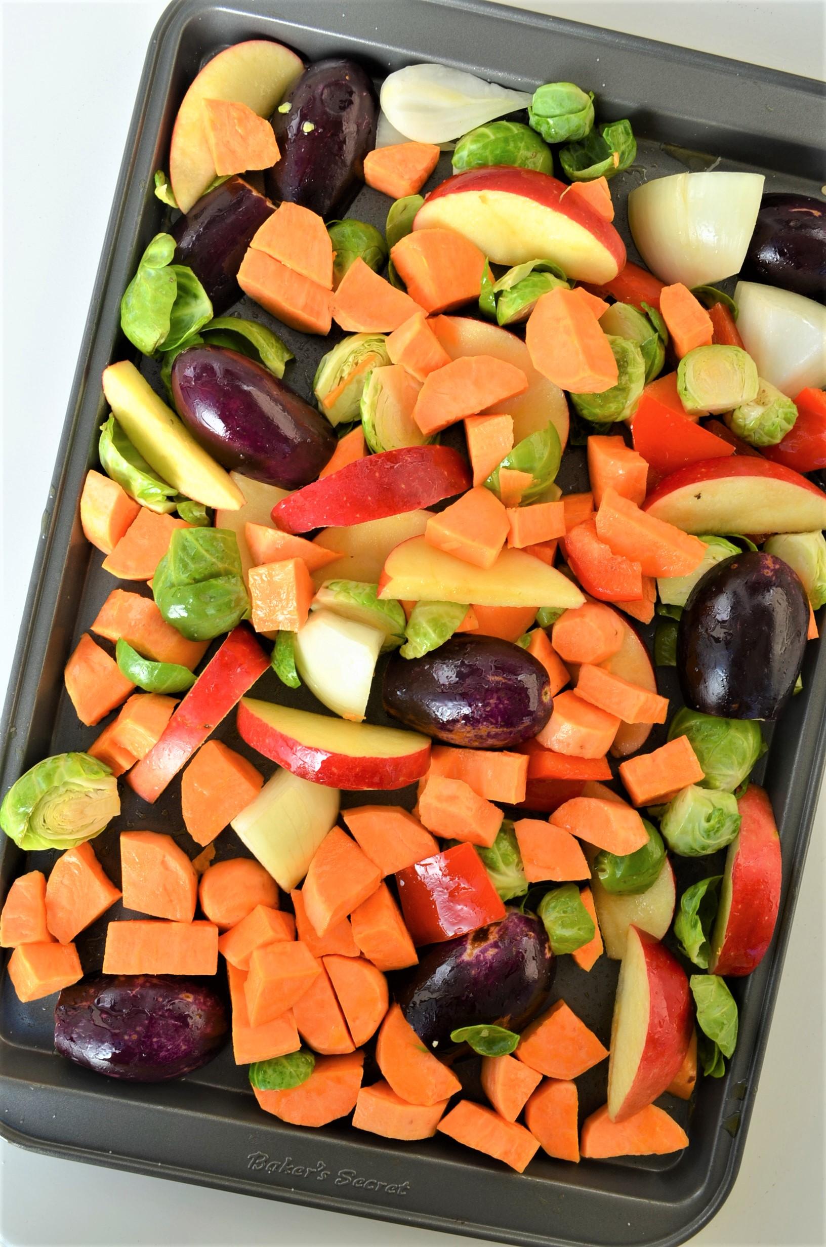 How To Make Pan Sheet Veggies
