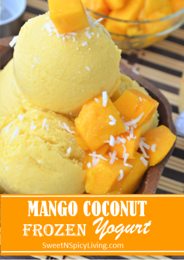 Mango Coconut Frozen Yogurt Blog2
