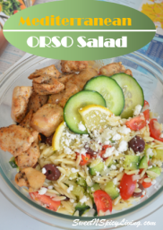 Mediterranean Orso Salad