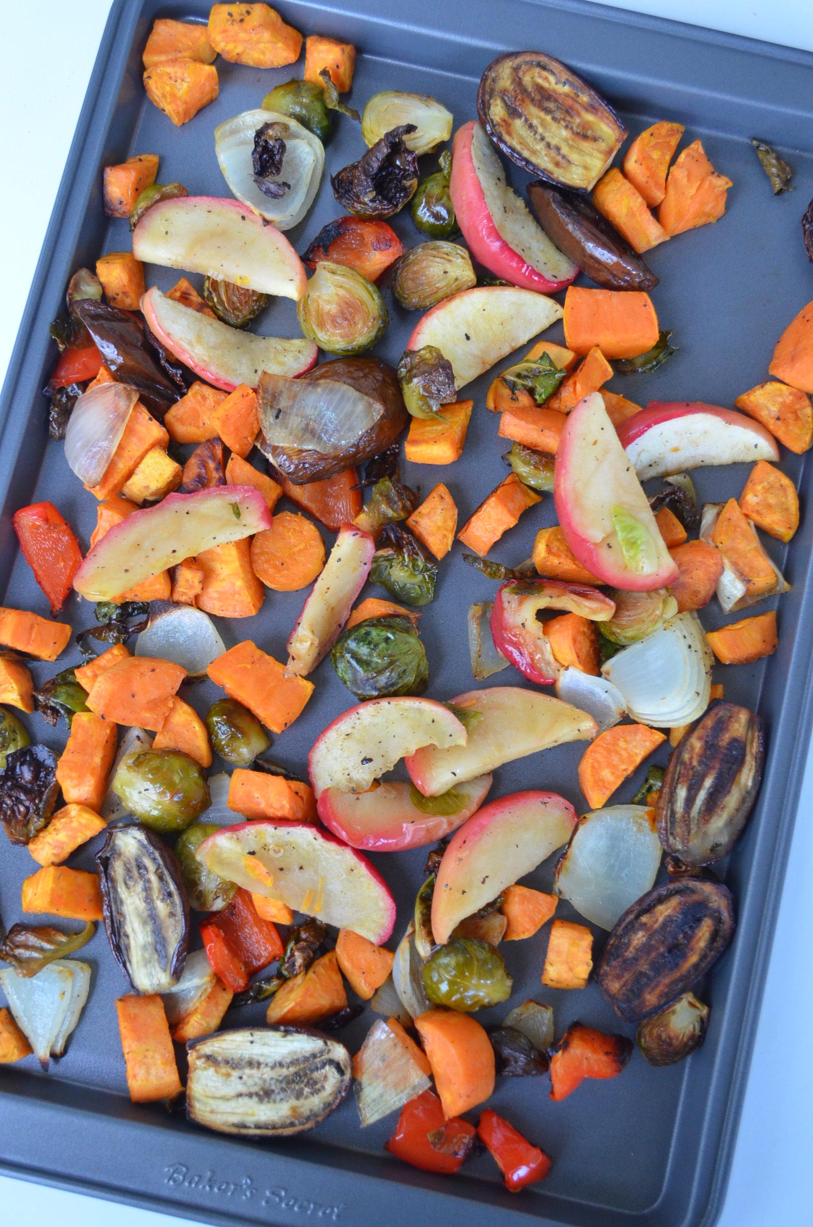 Pan Sheet Veggie Recipe at SweetNSpicyLiving.ccom