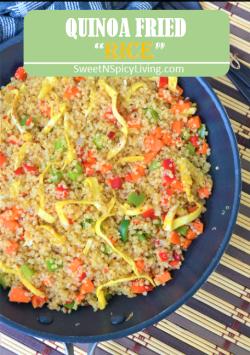 Quinoa Fried Rice