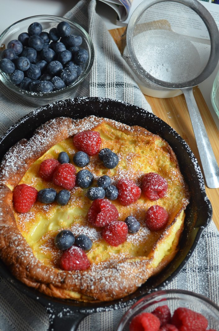 Small Batch Classic Dutch Baby Pancakes By SweetnSpicyLiving.com