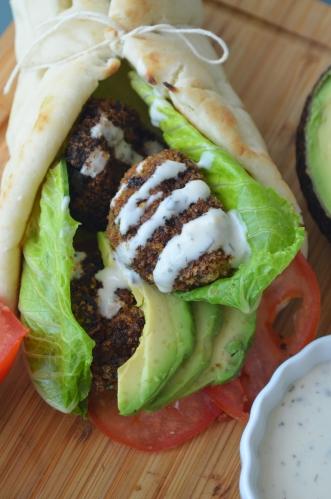 Vegetarian Gyros by SweetNSpicyLiving.com