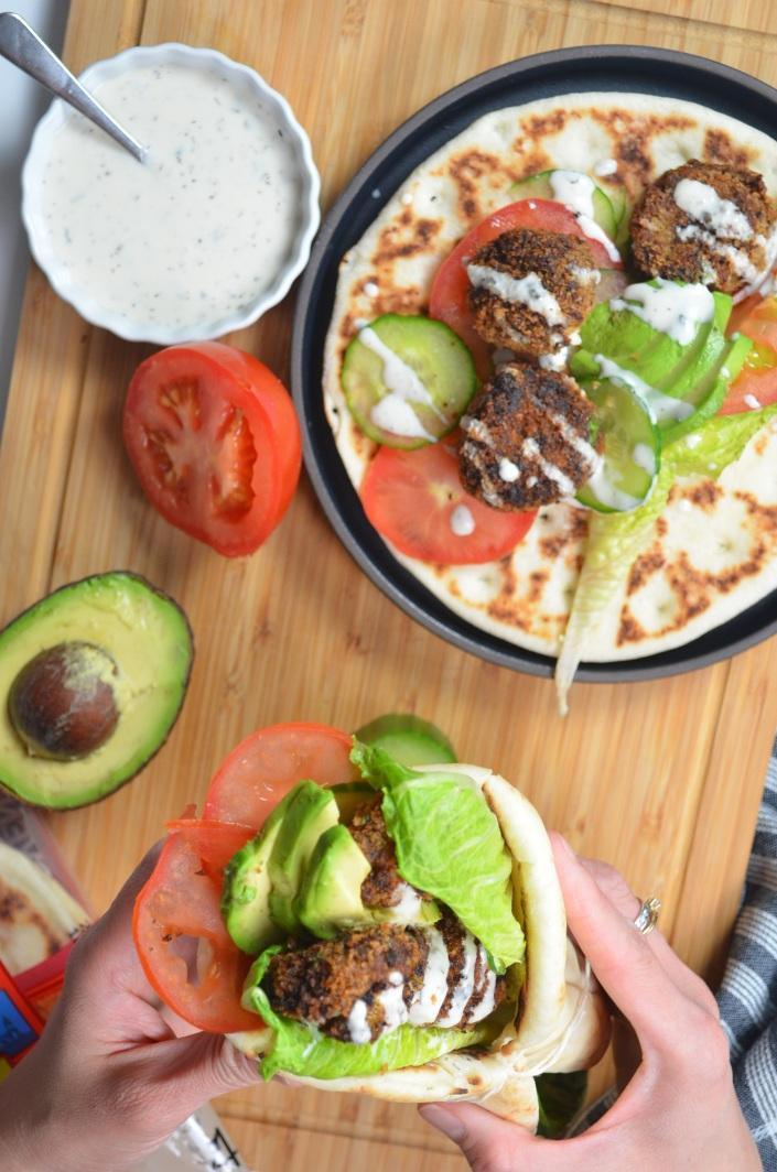 Vegetarian Gyros