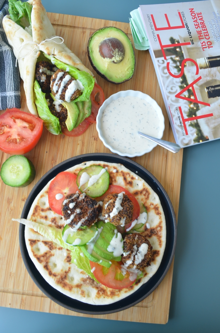 Zucchini Fritter Gyros Recipe by SweetNSpicyLiving