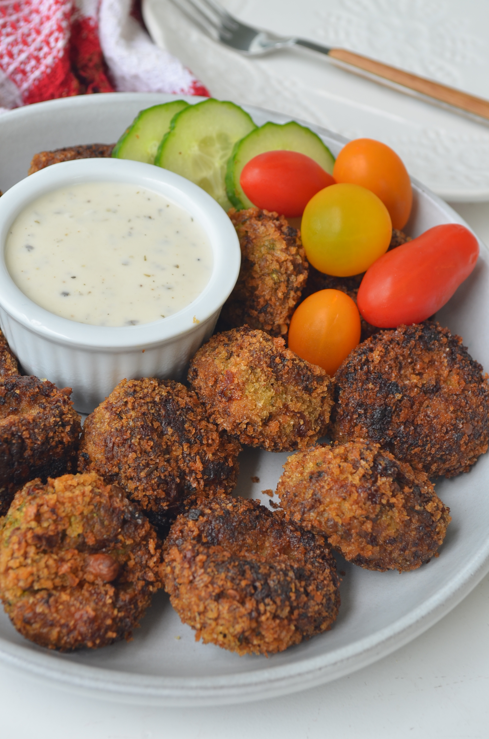 Zucchini Meatballs by SweetNSpicyLiving