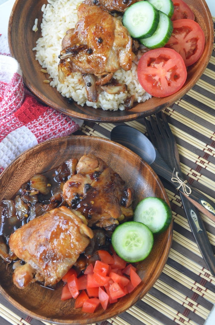 Classic Filipino Chicken Adobo By SweetnSpicyLiving